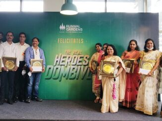 Runwal Group commemorates the Covid-19 Frontline Heroes on 75th Independence Day