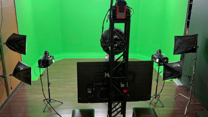 Red House Streaming Upgrades Facility with Full-Sized Chromakey Studio