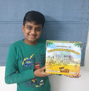 11-year-old realizes his passion for games – Creates 'Treasures of Thiruvananthapuram'