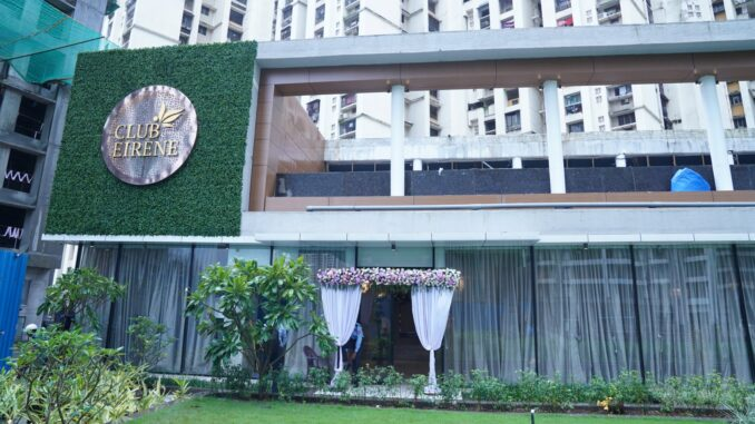 RUNWAL GROUP LAUNCHES THE LUXURIOUS CLUBHOUSE AT THEIR PROJECT RUNWAL EIRENE IN THANE