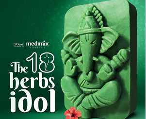 Medimix Brings Ganesha Idol Made Of Soap For An Eco-Friendly Ganesh Chaturthi