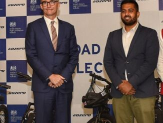 Mr. Alex Ellis, British High Commissioner to India & _Mr. Ankit Kumar, Founder & CEO, GoZero Mobility
