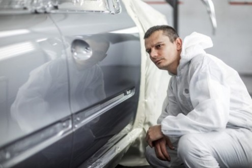 High-performance automotive refinish reaches new standard of industrial hygiene